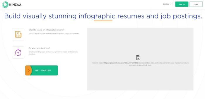 Situs pembuat CV online menarik gratis