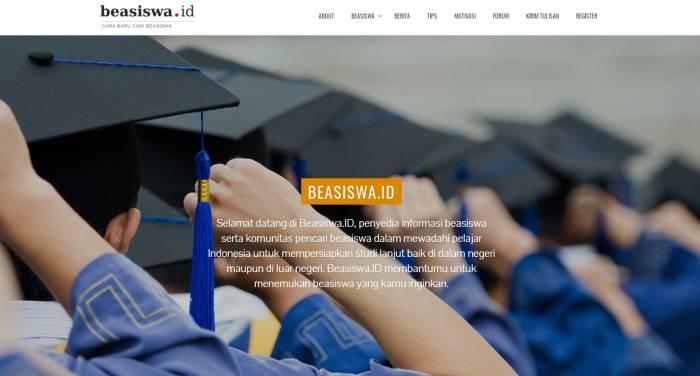 Situs penyedia info beasiswa kuliah terbaru