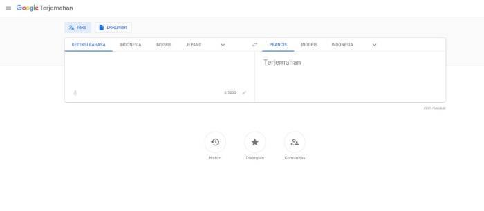 Situs penerjemah terbaik Google Translate