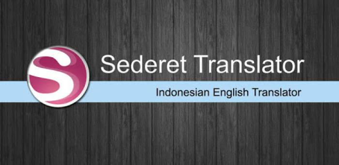 Situs penerjemah terpercaya Sederet