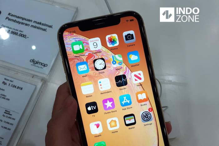Smartphone iPhone XR buatan Apple