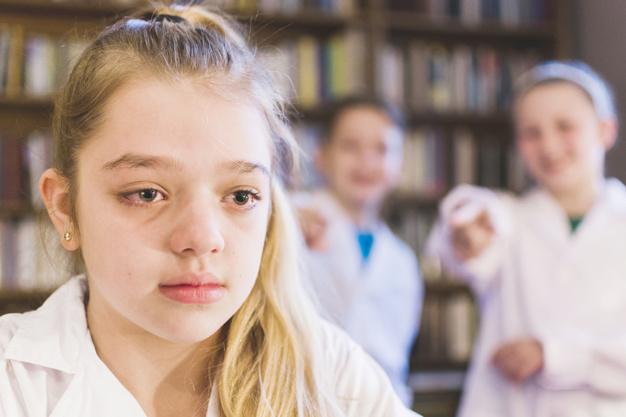Ilustrasi anak yang tengah menjadi korban bullying