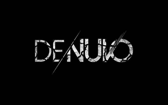 Ilustrasi logo Denuvo