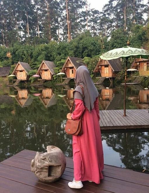 Tempat wisata alam asri Grafika Cikole Lembang