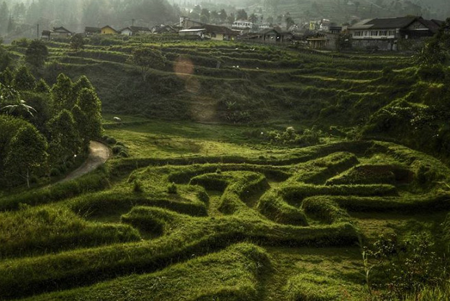 Tempat wisata alam Taman Lembah Dewata Lembang
