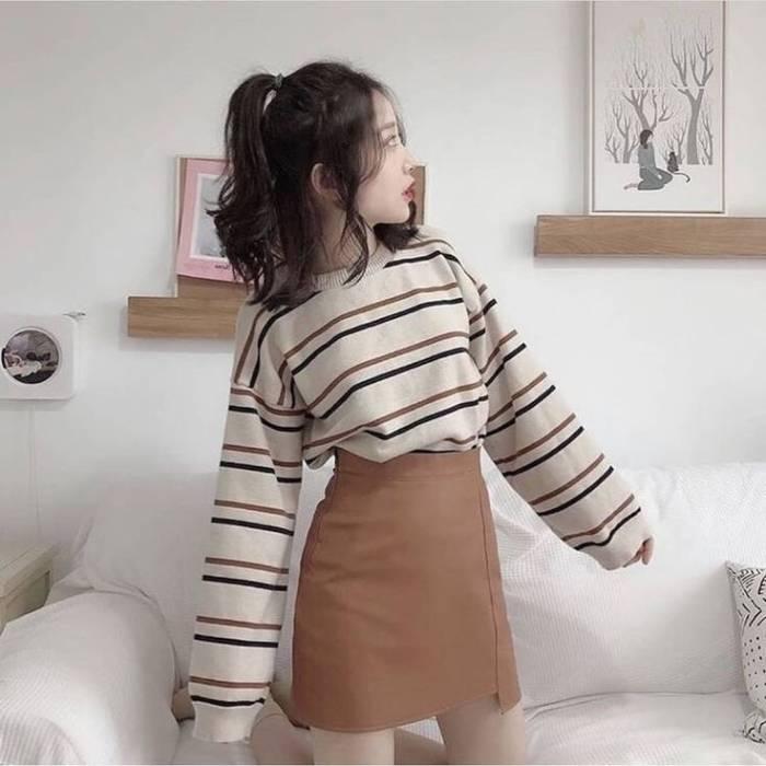 Korean look ilustrasi