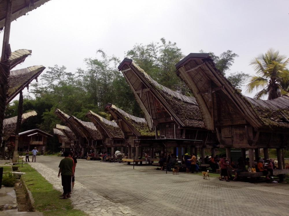 Desa adat Kete Kesu Tana Toraja mendunia