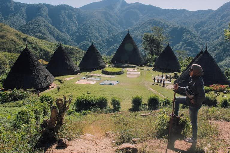 Desa adat mendunia Wae Rebo Nusa Tenggara Timur
