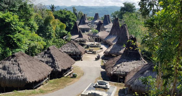 Desa adat terkenal Praijing Sumba Barat yang mendunia