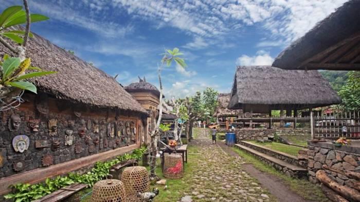Desa adat Tenganan Bali populer dan mendunia