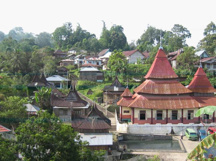 Desa adat mendunia Nagari Pariangan Sumatera Barat
