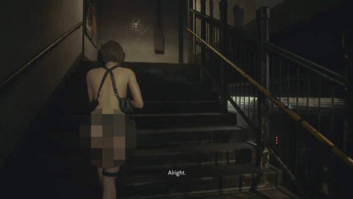 Resident Evil 3 Remake Nude Mod