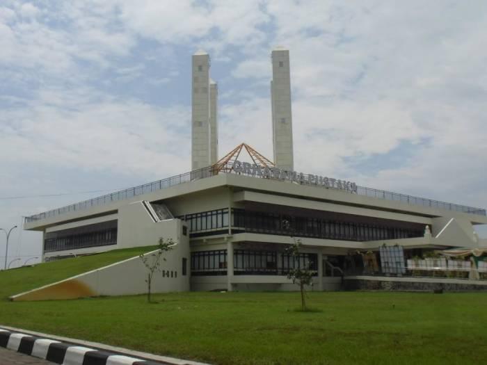 Perpustakaan terkeren di Indonesia Grhatama Pustaka Yogyakarta