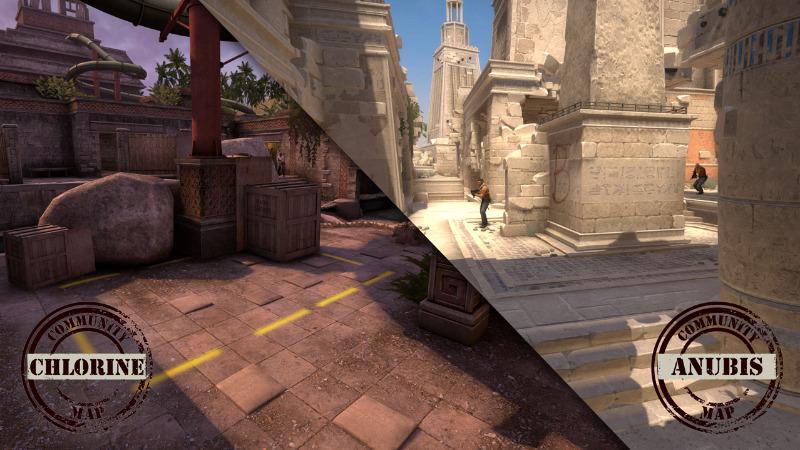Map Anubis dan Chlorine di CS:GO