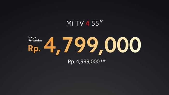 Mi TV 4 55 inci