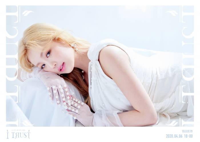 Soojin dari (G)I-dle dengan konsep