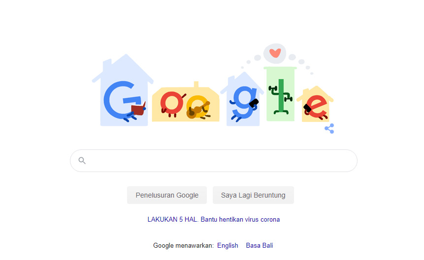 Google Doodle tanggal 4 April