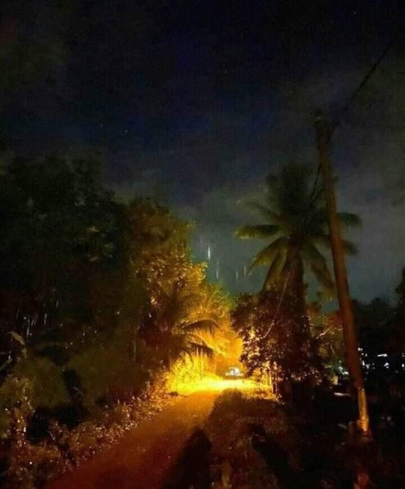 Fenomena pilar cahaya di Malaysia