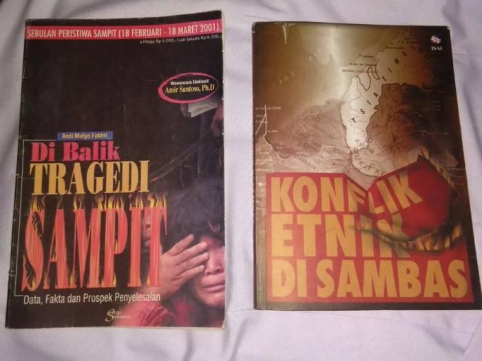 Kisah konflik dan Perang Sampit dan Sambas.