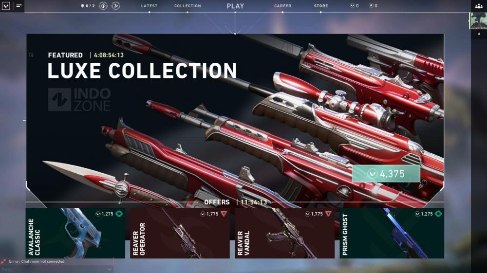 Skin Luke Collection di Valorant