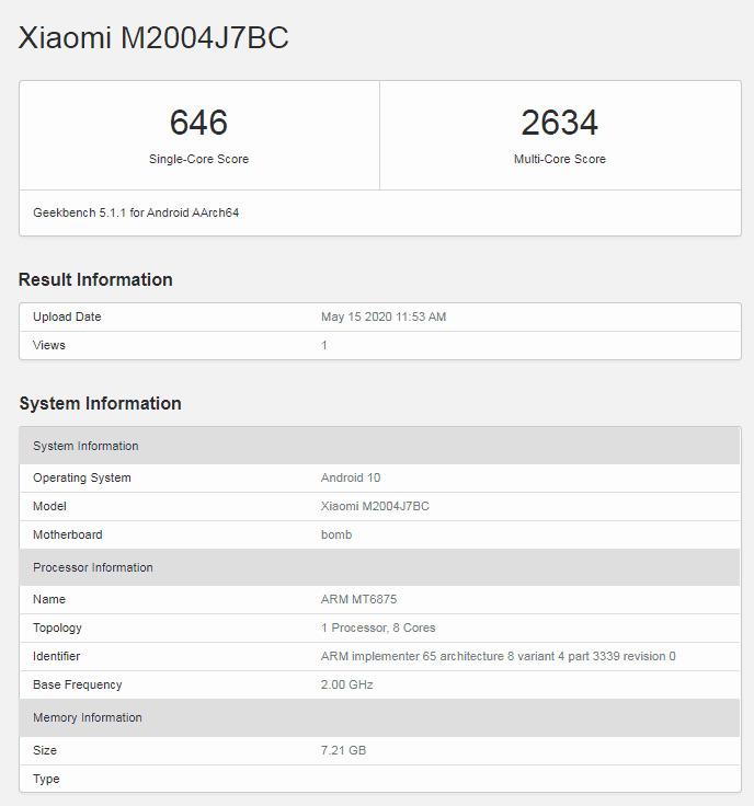 Benchmark Redmi Note 10 Pro