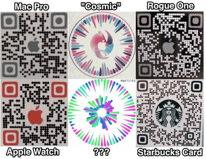 Contoh QR Code yang bisa dipindai di iOS 14