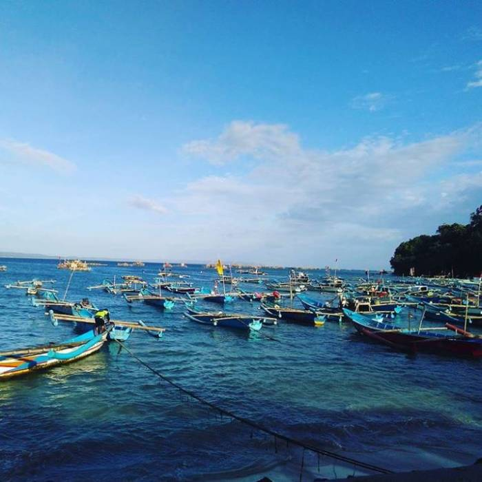 tempat wisata pantai pananjung pangandaran Jawa Barat