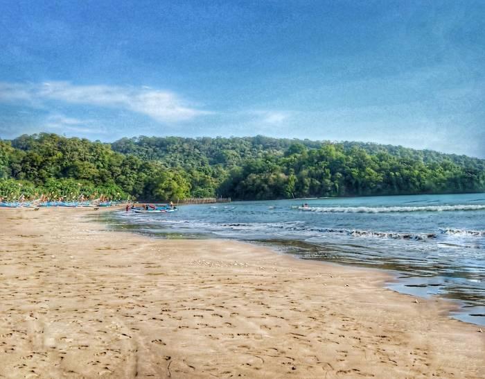 tarif tiket masuk wisata pantai pangandaran Jawa Barat