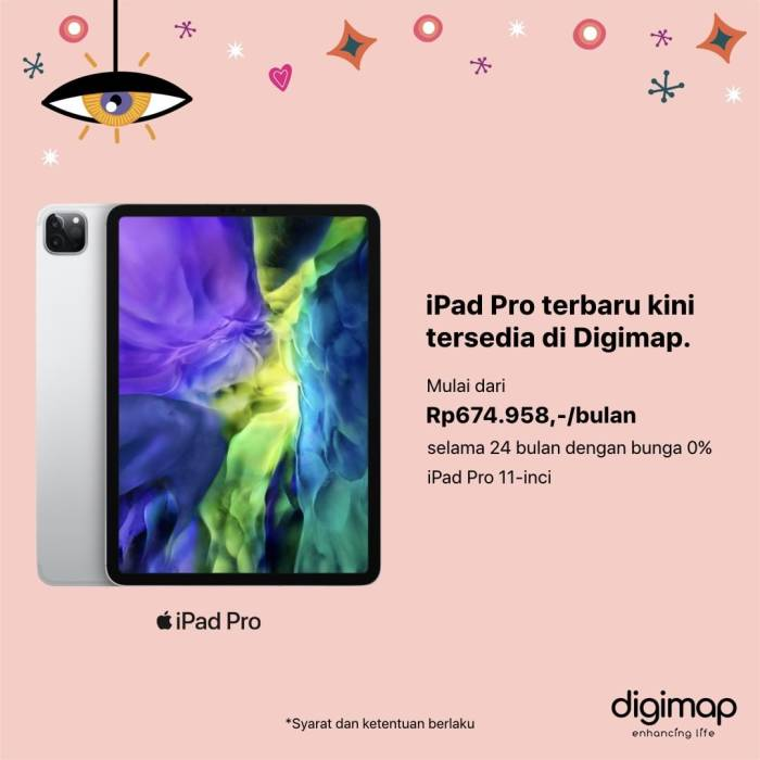 Harga iPad Pro 2020 di Digimap