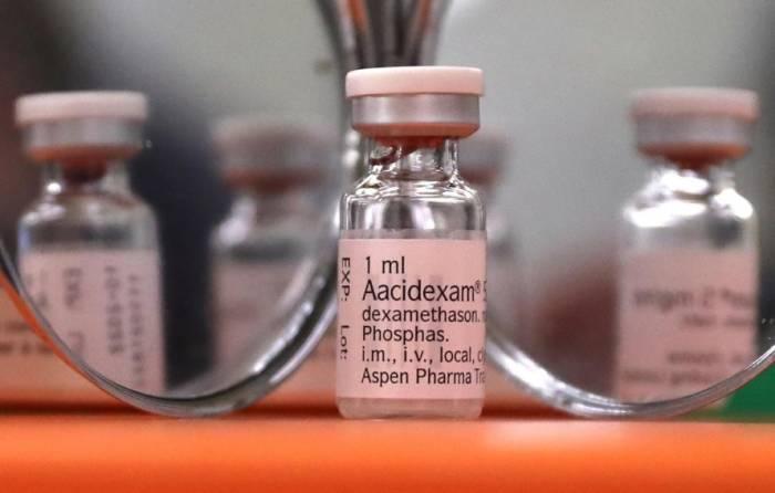 Dexamethasone. (REUTERS/Yves Herman)