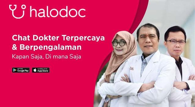 Aplikasi konsultasi dokter Halodoc