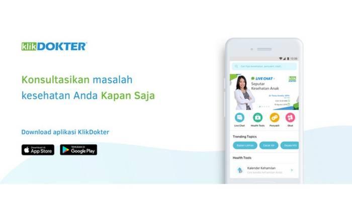 Aplikasi konsultasi kesehatan terpercaya KlikDokter