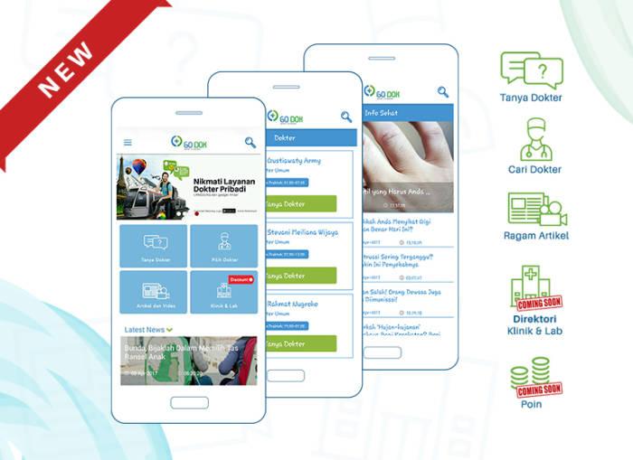 Aplikasi konsultasi dokter online gratis Go-Dok