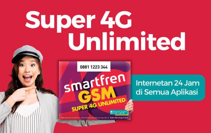 Paket Super 4G Kuota Smartfren