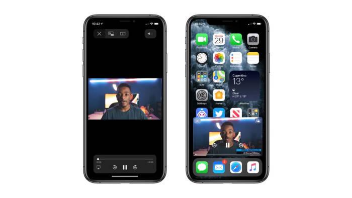 Fitur Picture-in-Picture di sistem operasi iOS 14