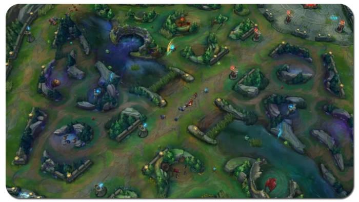 Peta Wild Rift di League of Legends
