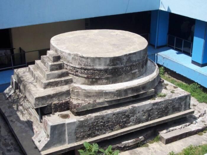 Kuil yang didedikasikan pada Dewa suku Aztec, Ehecatl.