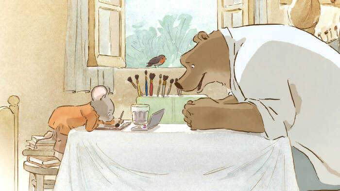 Ernest & Celestine (2012). (La Parti Productions)