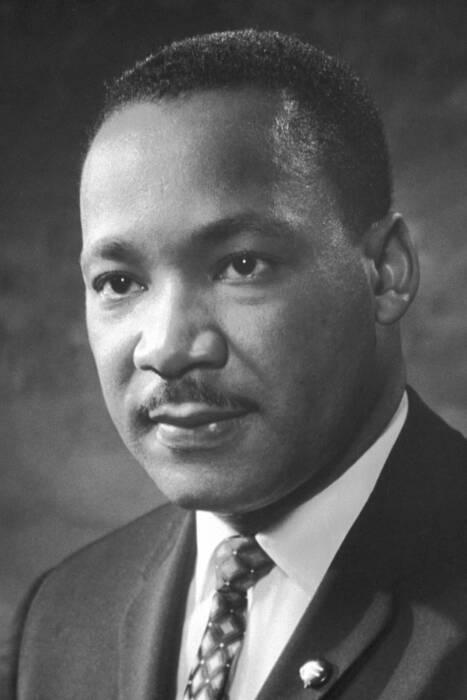 Martin Luther King Jr. (Wikipedia/Nobel Foundation).