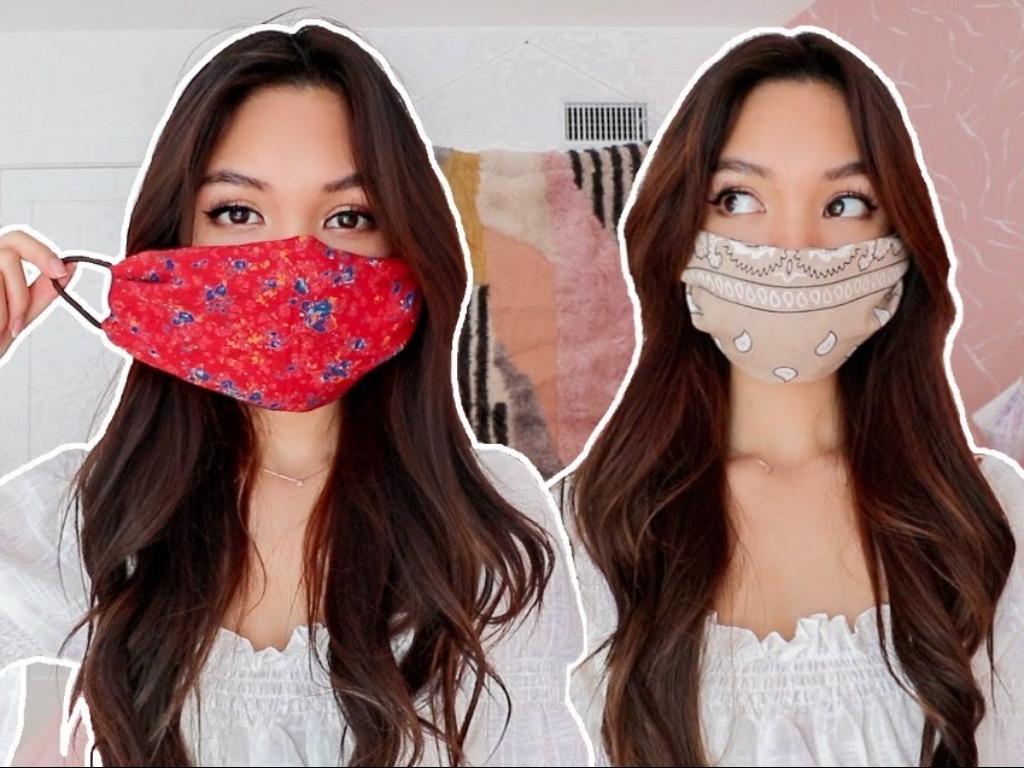 Ladies Begini Cara Praktis Hilangkan Noda Makeup di Masker Kain