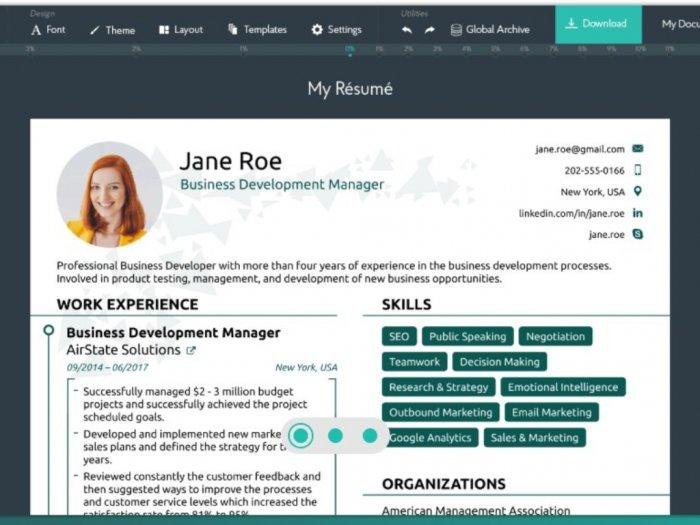 6 Situs Membuat CV Online Menarik dan Gratis