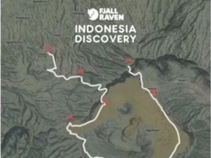 Ini Dia Rute Jelajah Fjllrven Indonesia Discovery 2020