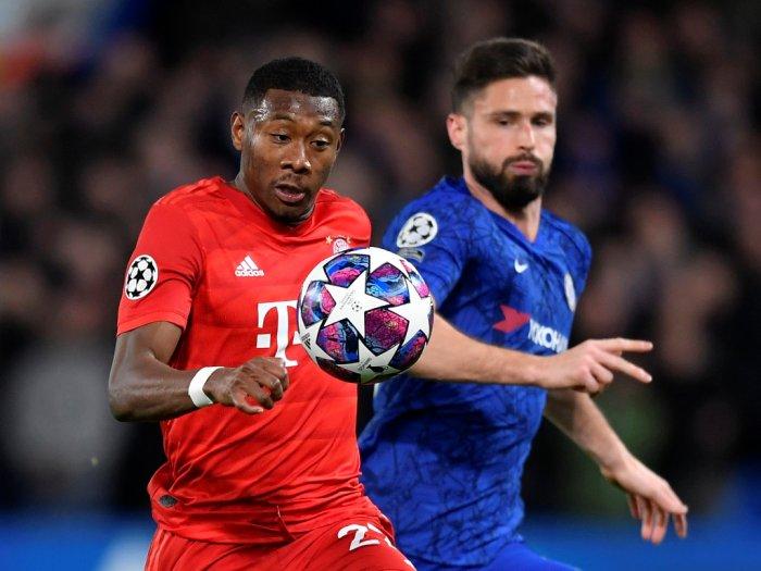 Babak I Chelsea VS Bayern Munchen Skor Kacamata
