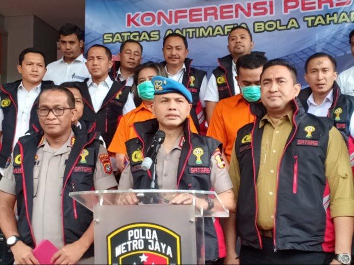 Gercep Satgas Antimafia Tangkap 2 DPO Kasus Pengaturan Skor di Liga 3