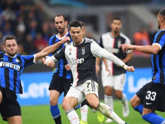 Laga Juventus VS Inter Milan Akan Digelar Tanpa Penonton Karena Corona