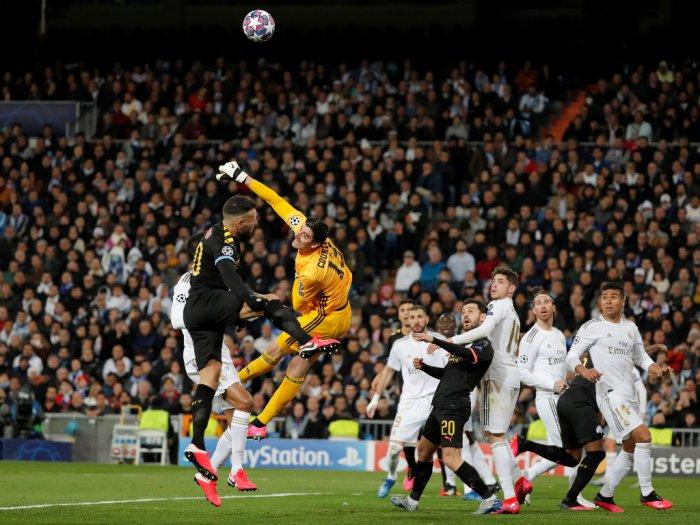 Real Madrid VS Manchester City Babak Pertama Imbang Tanpa Gol