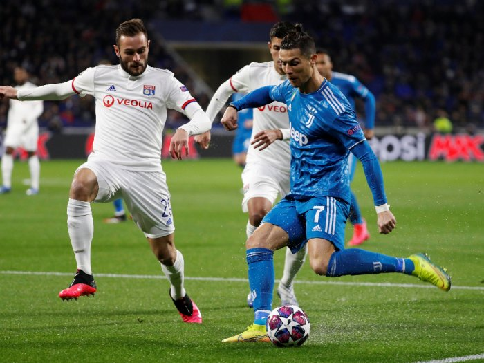 Liga Champions Lyon VS Juventus 1-0 di Babak Pertama