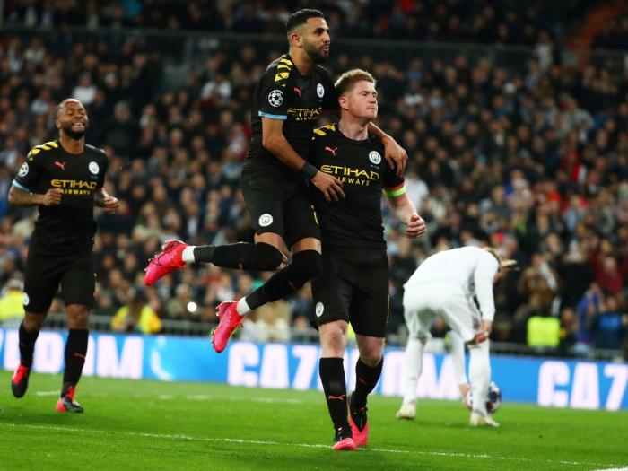 Lawan Manchester City Real Madrid Terpeleset di Kandang Sendiri