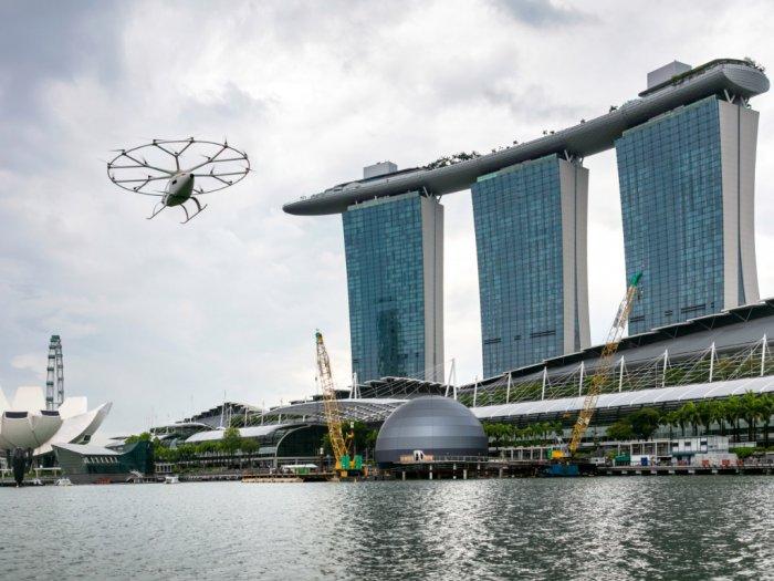 Dalam Waktu Dekat Taksi Udara Siap Beroperasi di Singapura