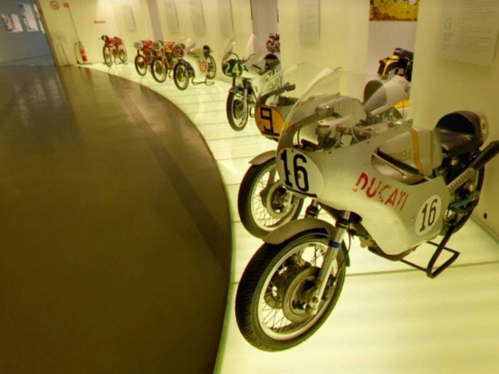 Takut Virus Corona Museum Piaggio dan Ducati Ditutup